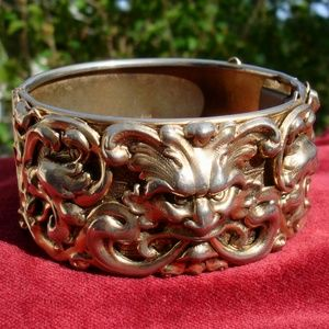 Lion Cuff Bracelet Vintage Game of Thrones Gift